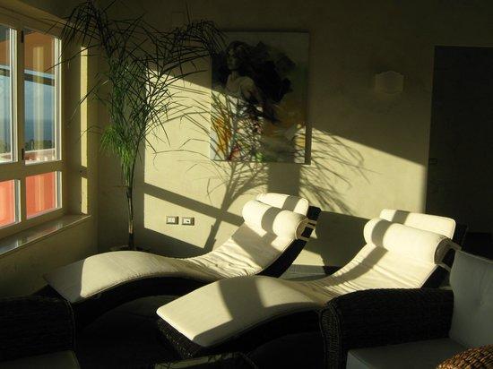 Санта-Доменика-ди-Рикади, Италия: sala relax