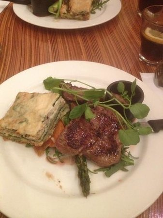 Restaurant Szmulewicz: greek style lamb... i strongly advise it with green salad.... just go there and choose one of th