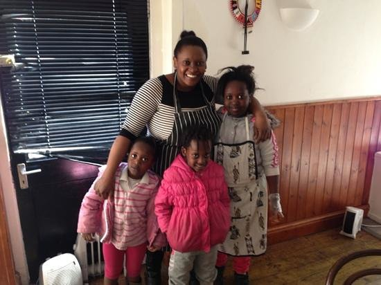 C & W's African Experience: Wanja & the children
