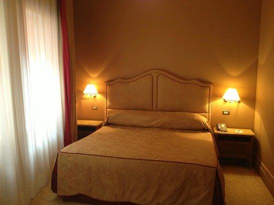 Bauer Hotel: Schlafbereich Suite 234