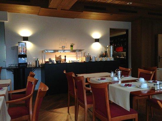 Hotel Sternen Muri: Frühstücksbuffet.