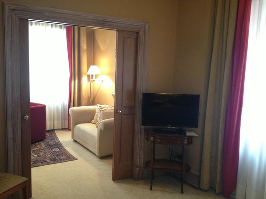 Bauer Hotel: Suite 234 Wohn/Schlafbereich