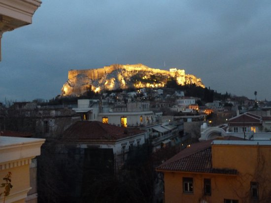Electra Palace Athens: great view from our window