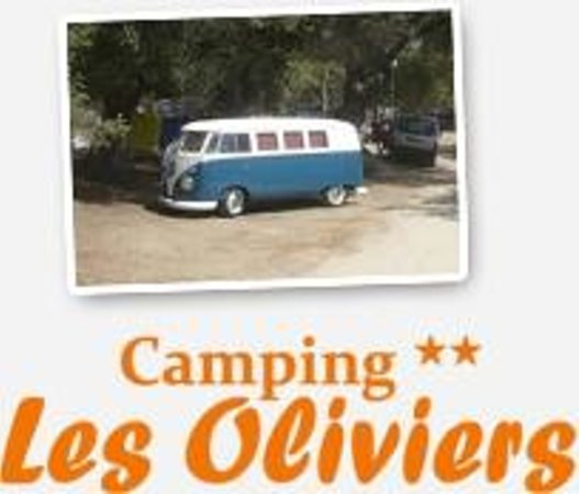 Camping Les Oliviers : Un emplacement