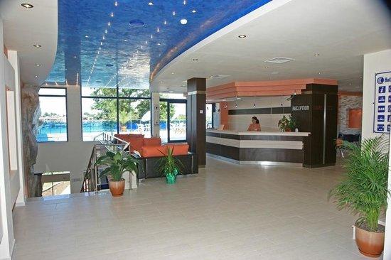 Hotel Selena: hotel`s lobby