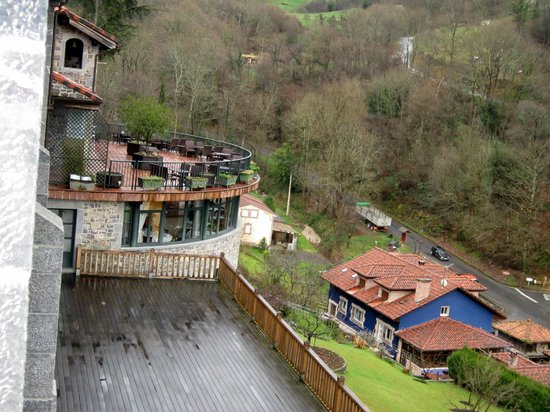 La Cepada Hotel: vistas desde mi habitacion