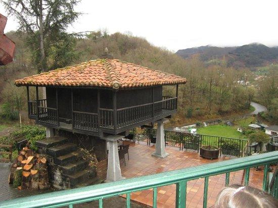 La Cepada Hotel: entrada