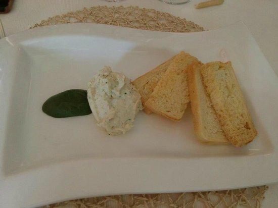 Trattoria Isetta: Baccalà mantecato