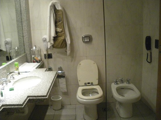 NH Urbano : Bathroom basin and loo
