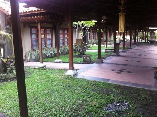 Singgasana Hotel Surabaya: coridor area