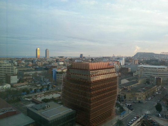 Novotel Barcelona City: View from room 1515
