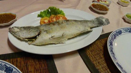 Na-Thai Resort: Leckerer Fisch