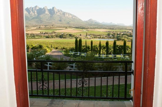 Val Du Charron Wine & Olive Estate Guesthouse: Overlooking Bovlei valley