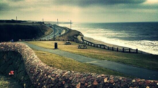 East Durham Coast : Seaham Vane Tempest Beach