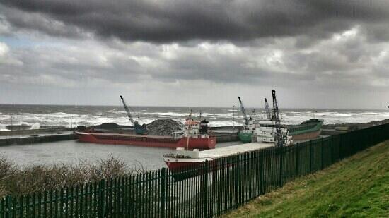 East Durham Coast : Seaham marina