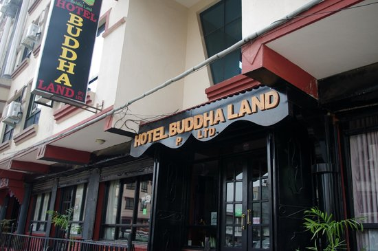 Hotel Buddha Land: exterior of the hotel
