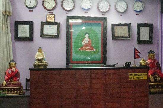 Hotel Buddha Land: reception
