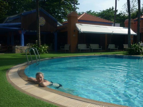 Baan Samui Resort : The pool and bar