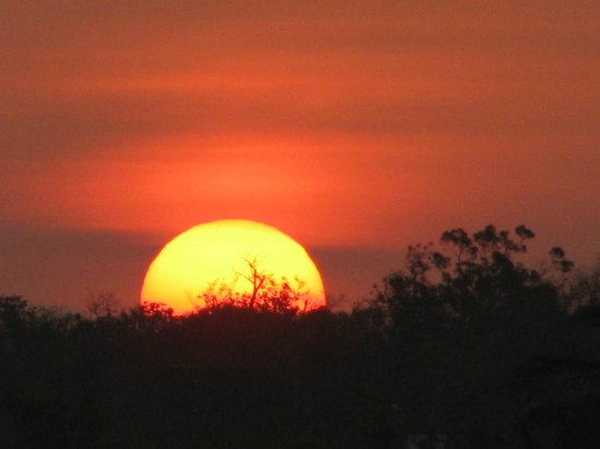 Sol Rio de Luna y Mares: lever de soleil