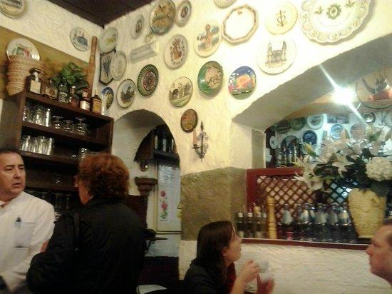 La Trucha : Interior comedor de la planta baja