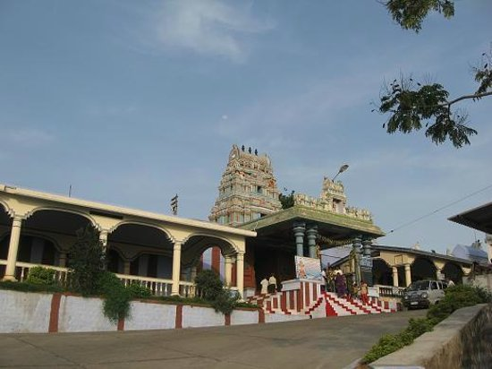 Tiruchengode, Ινδία: Ardhanareeswarar Temple-Entrance