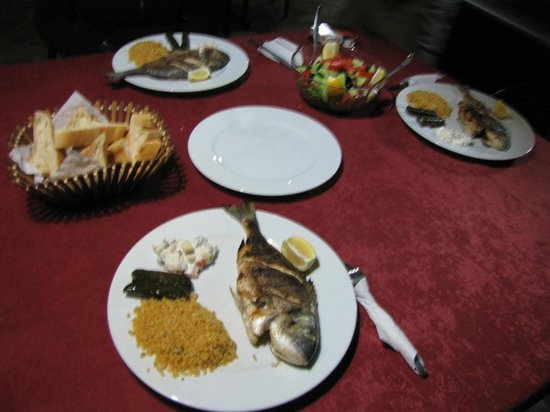 Sezgins Boutique Pansion: Grilled fish