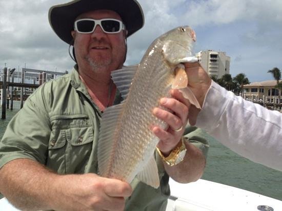 Capt Chris Morrison Fishing Charters: My first redfish!