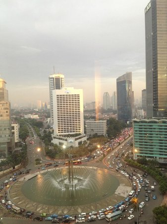 Grand Hyatt Jakarta: views from room