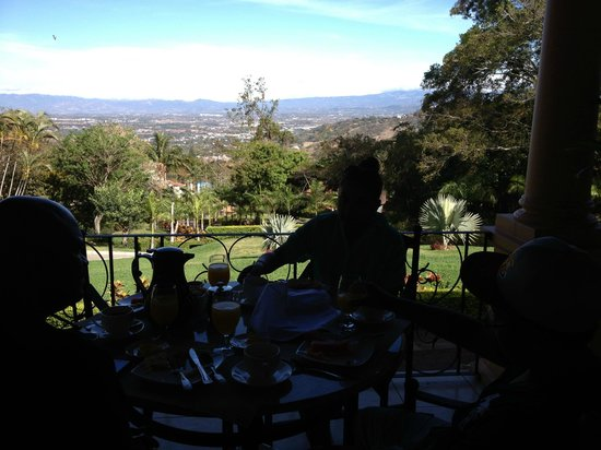 Ringle Resort Hotel & Spa: View from the veranda