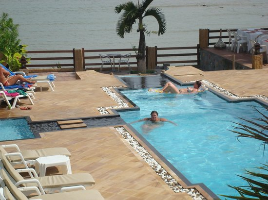 Krabi Tropical Beach Resort : View from balcony