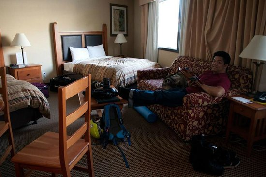 Blackcomb Lodge: The room
