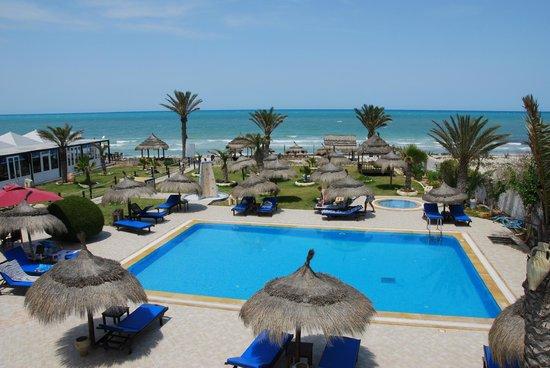 Playa Sidi Mehrez, Túnez: piscine