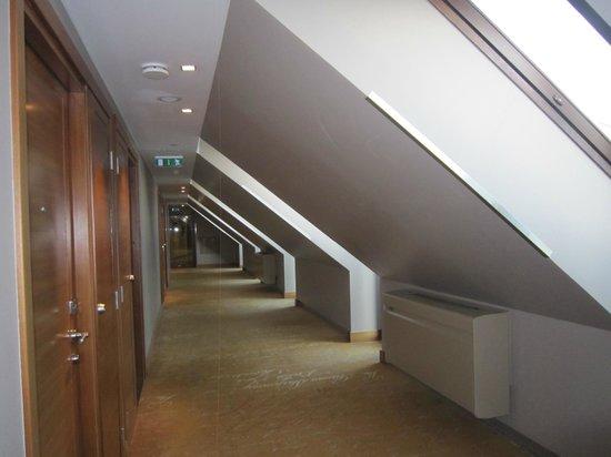Hotel Telegraaf: couloir hôtel telegraaf