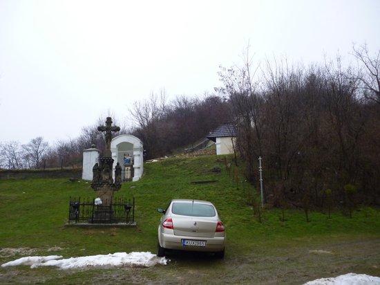 Magyarpolany, Hungary: Climbing begins here