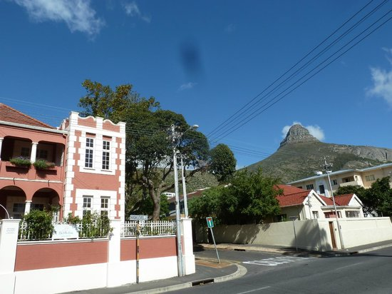 The Villa Rosa: Sunny day at Seapoint's Villa Rosa
