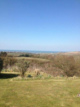 Kennacott Court: View towards coast from Kennacott House