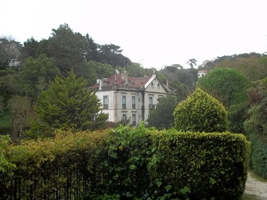 Hotel Sintra Jardim : The vicount welcomes you.