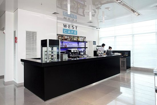 West Boutique Hotel Ashdod: West Café