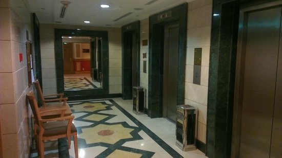 Al Haram Hotel : Lifts area