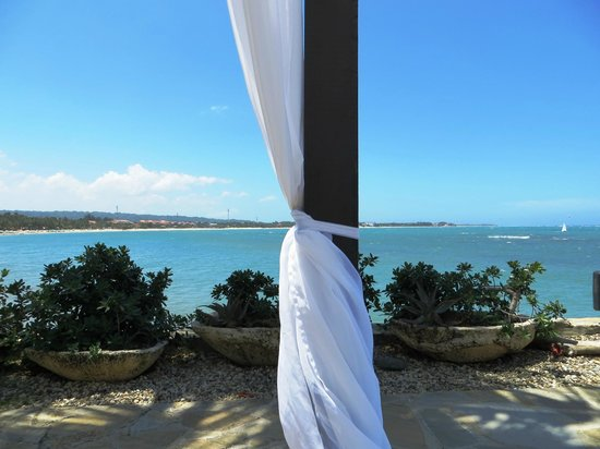 Velero Beach Resort: Cabana view