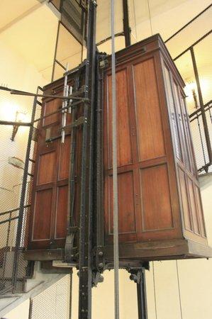 La Residenza: 19th Century Mahogany Elevator