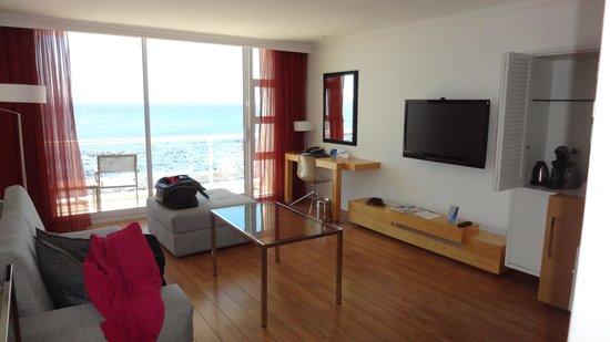 Radisson Blu Hotel Waterfront, Cape Town: Zimmer 0209 und Aussicht aufs Meer