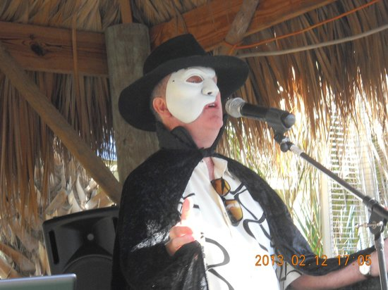 Bamboo Beach Bar & Grill : You just never know who will appear on Tuesday!