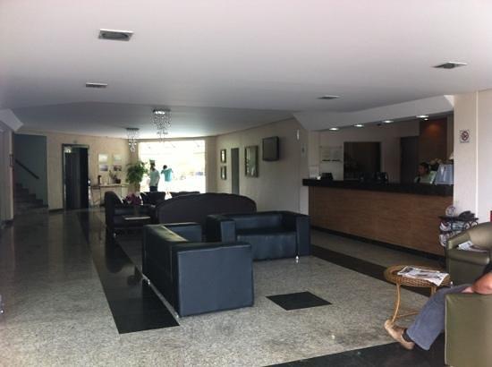 Rio das Pedras Hotel: Recepção