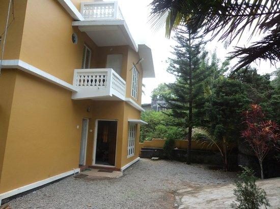 Nakshathra Inn: Outside of the homestay