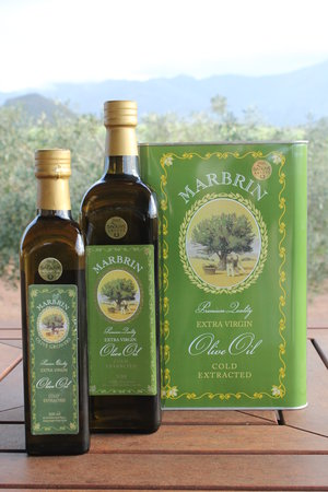 Marbrin Olive Farm: Award winning olive oil