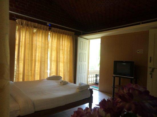 Nakshathra Inn: Interior of the room