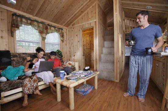 Lakeside Cabins Picture Of Darien Lake Amusement Park Darien Center Tripadvisor