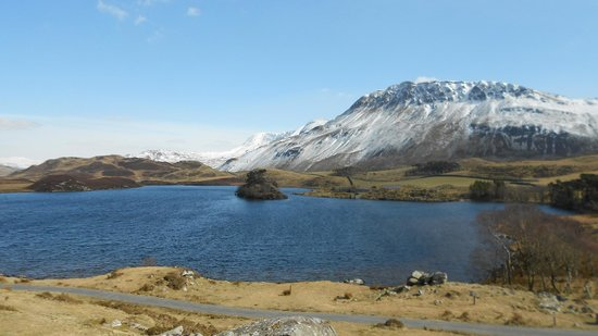 Prysgoed: local lakes and mountains