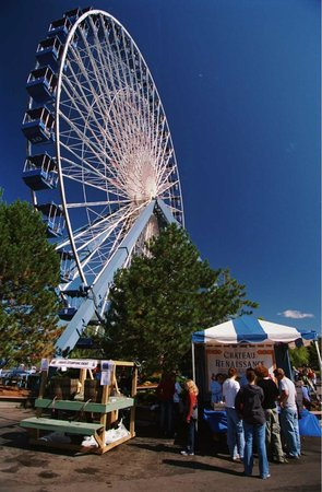 Darien Center, NY: Giant Wheel